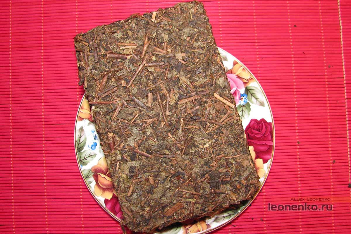 Фу Ча от Baishaxi – Аньхуанский черный чай - внешний вид
