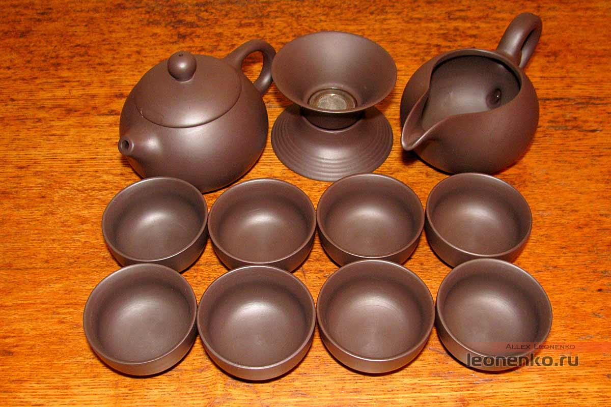 Глиняный набор для чайной церемонии