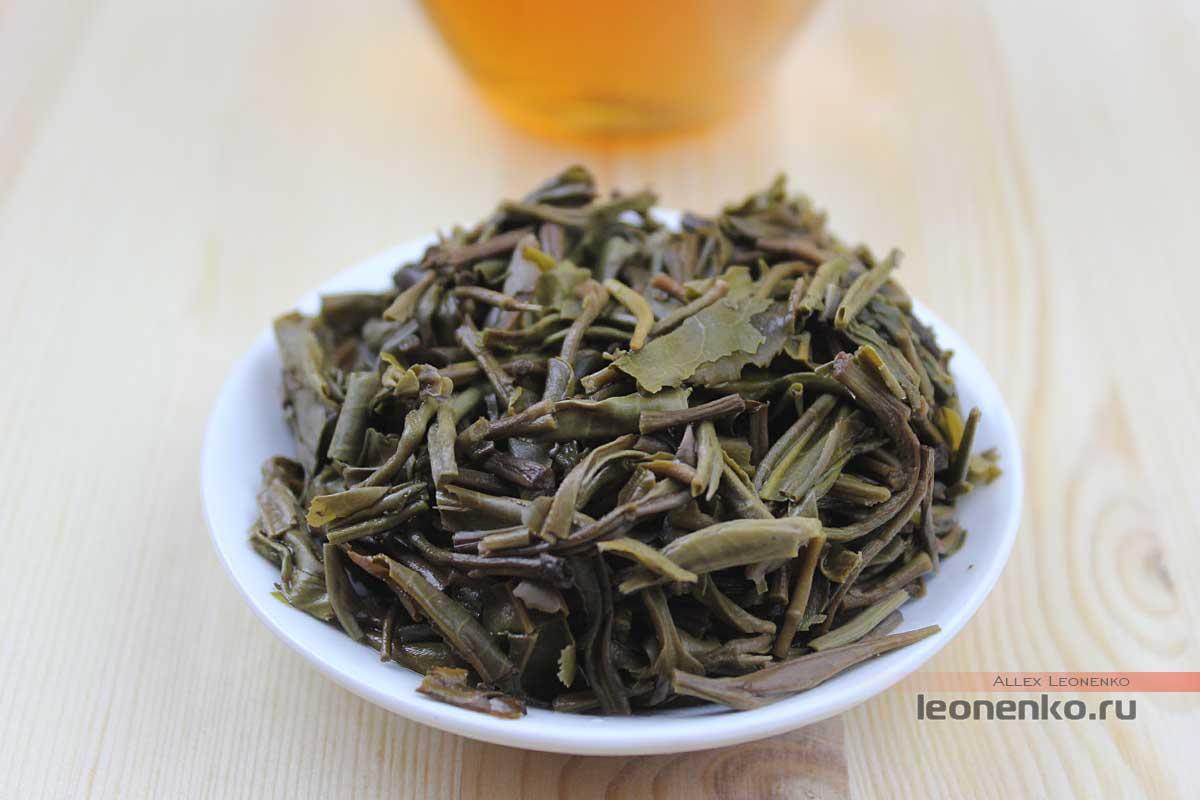 Шен Пуэр Бяньцзин, «Пограничный», чайное дно