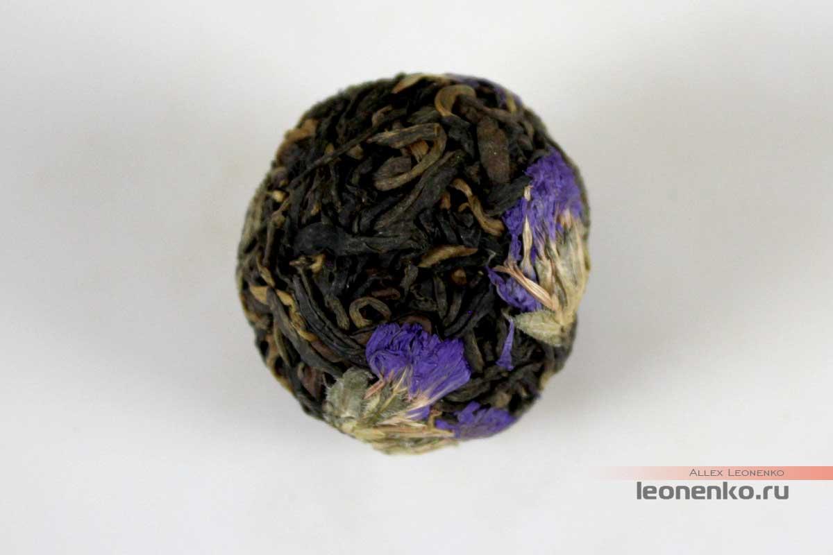 Дянь Хун в жемчужинах дракона с добавками цветков окопника