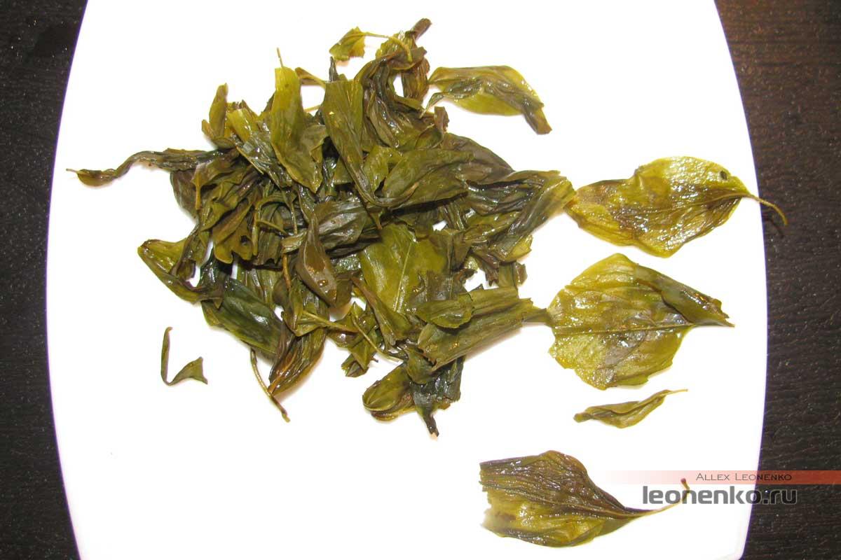 Дин Сян Ча – гвоздичный чай - спитой лист