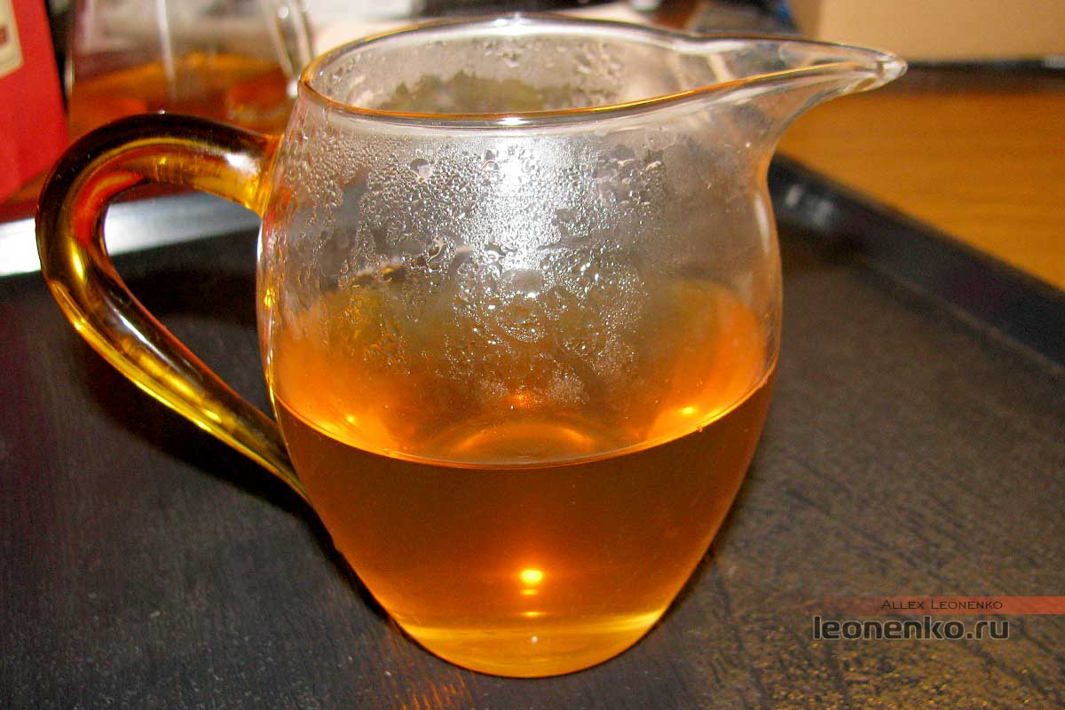 Шен Пуэр Кэбу - чай при остывании
