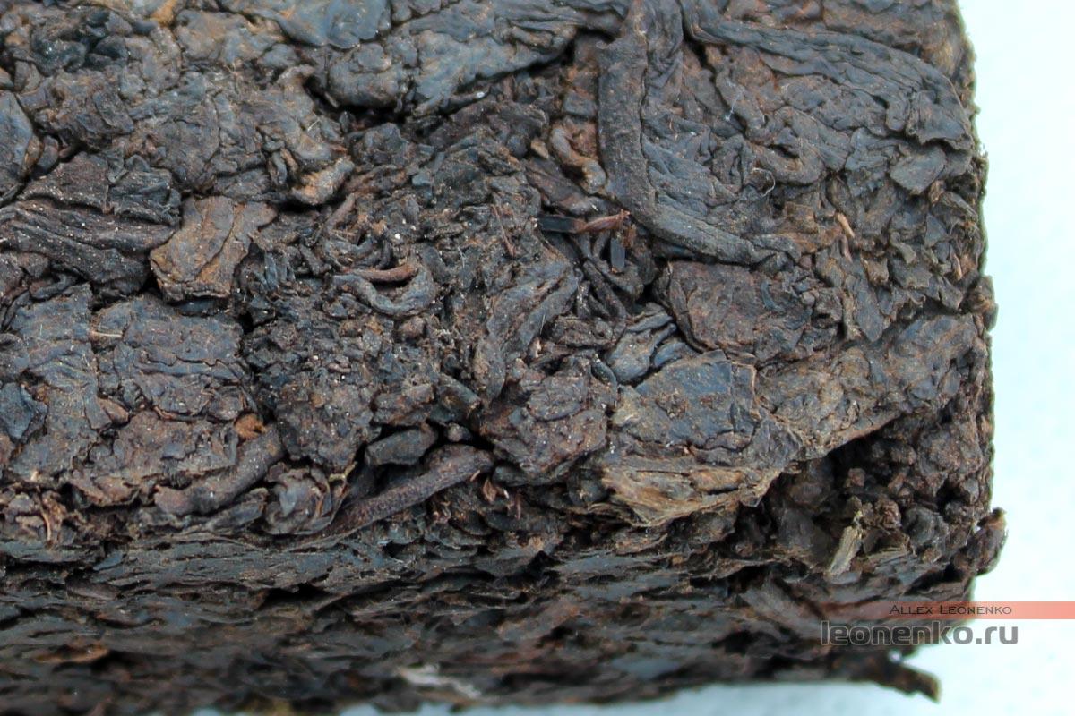 Лао Ча Тоу, фабрика Цайчен, брикет чая