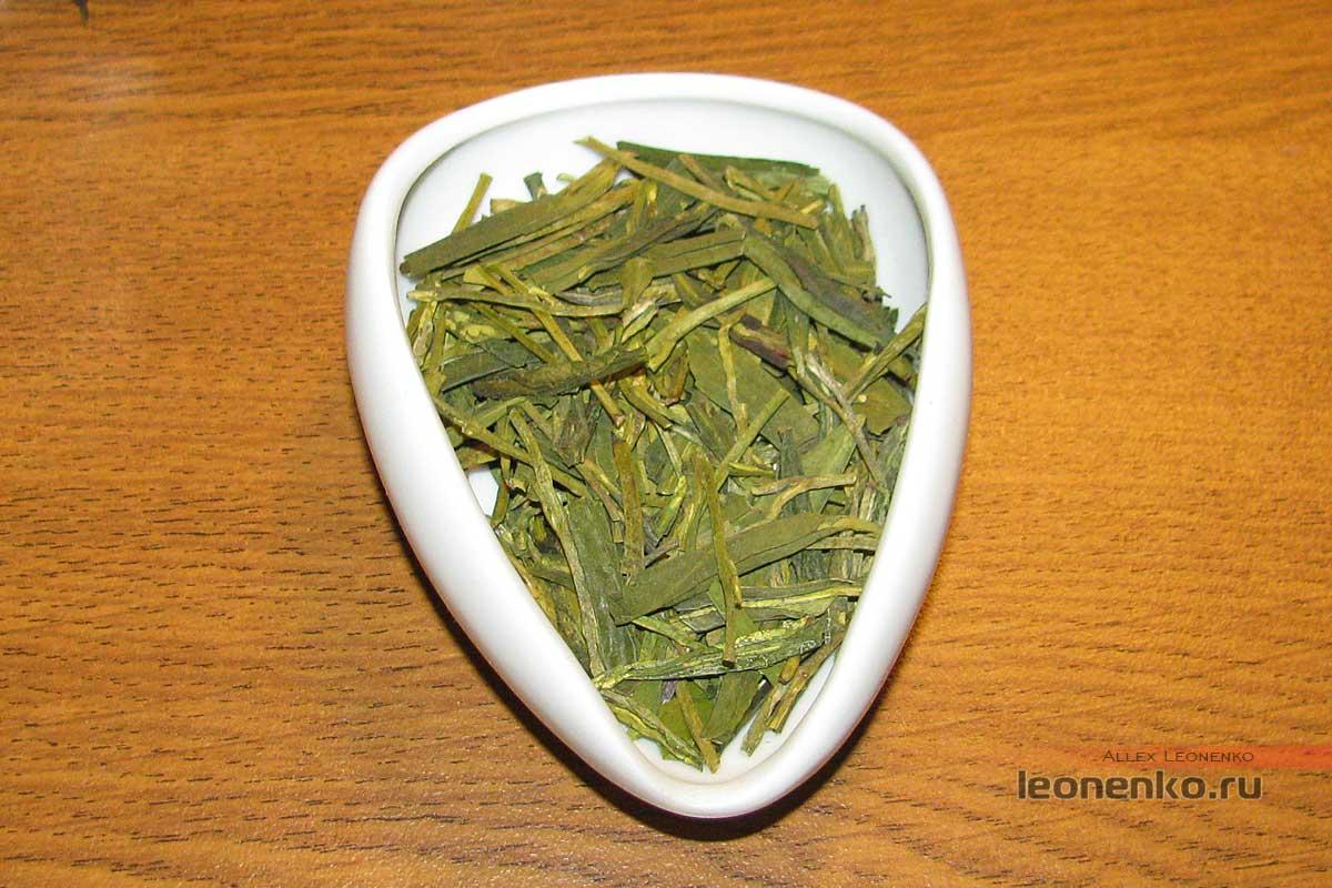 Лунцзин Юнча, сухой чай