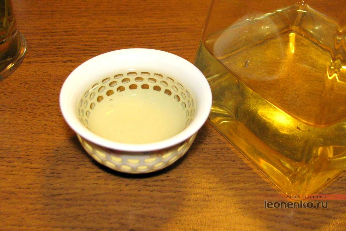 Лунцзин Юнча, готовый чай