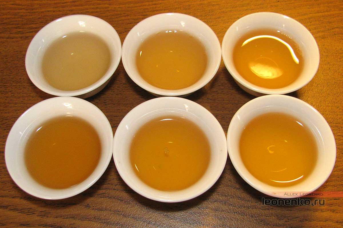 Шен Пуэр Цайчен Гао Гань Гушу (高杆古树), 2017 г, 500 гр. - готовый чай