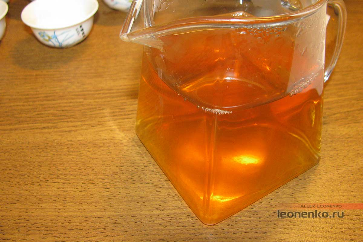 Шен Пуэр Цайчен Гао Гань Гушу (高杆古树), 2017 г, 500 гр.- готовый чай