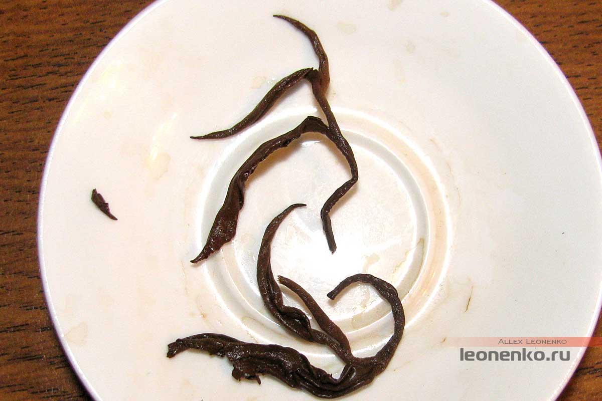 Золотая юньнаньская улитка - спитой лист