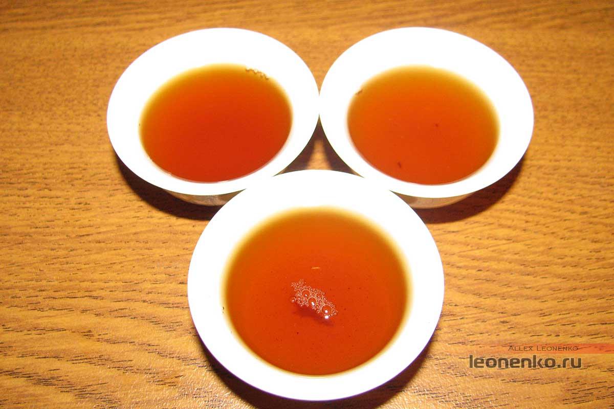 Золотая юньнаньская улитка - готовый чай