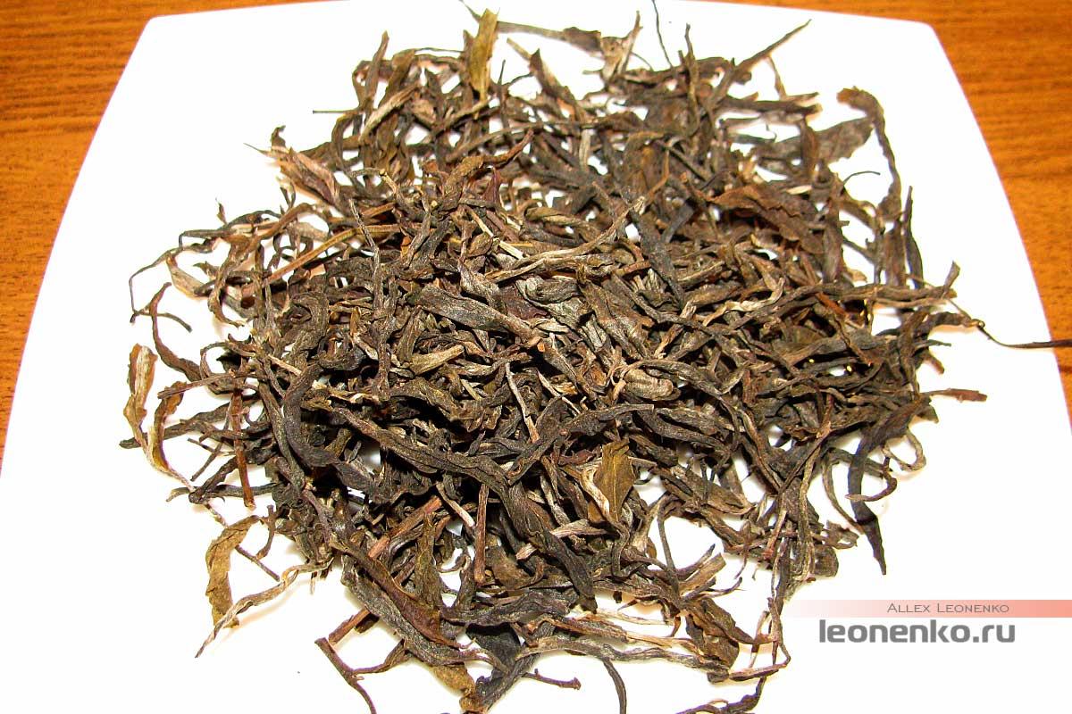 Шен Пуэр с горы Буланшань - чай