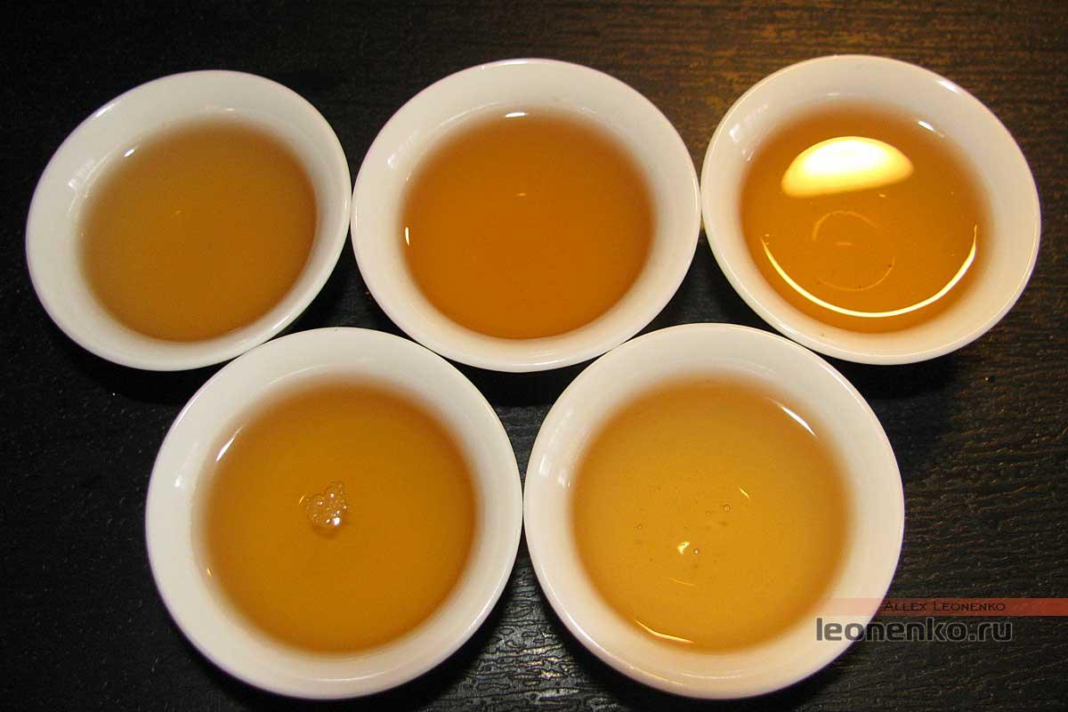 Шен Пуэр с горы Буланшань - приготовленный чай