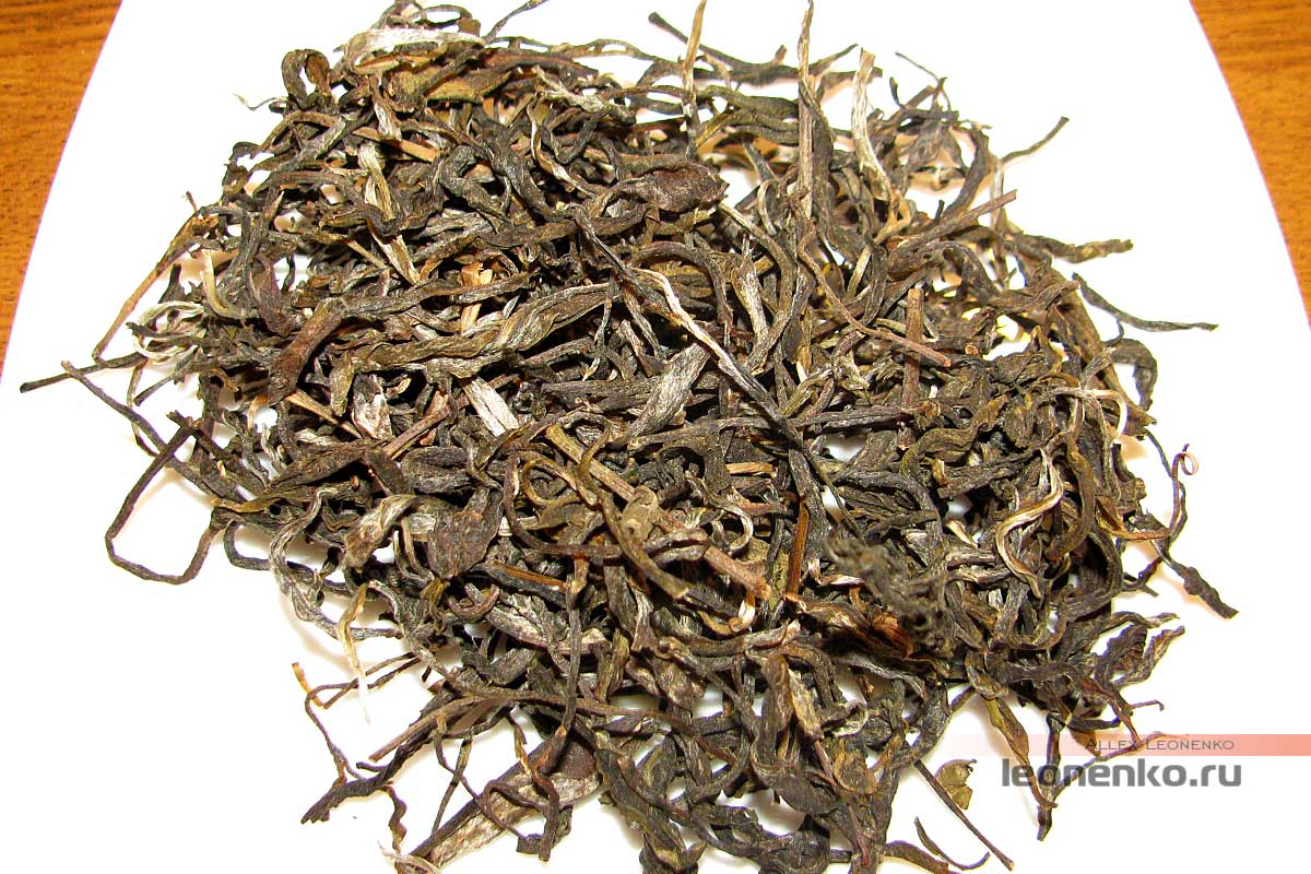 Шен пуэр «Гу цяо му ча» - чай