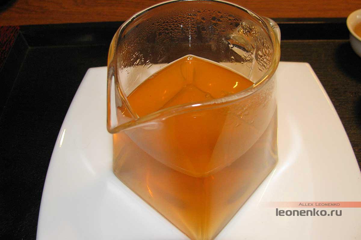 Шен пуэр «Гу цяо му ча» - приготовленный чай