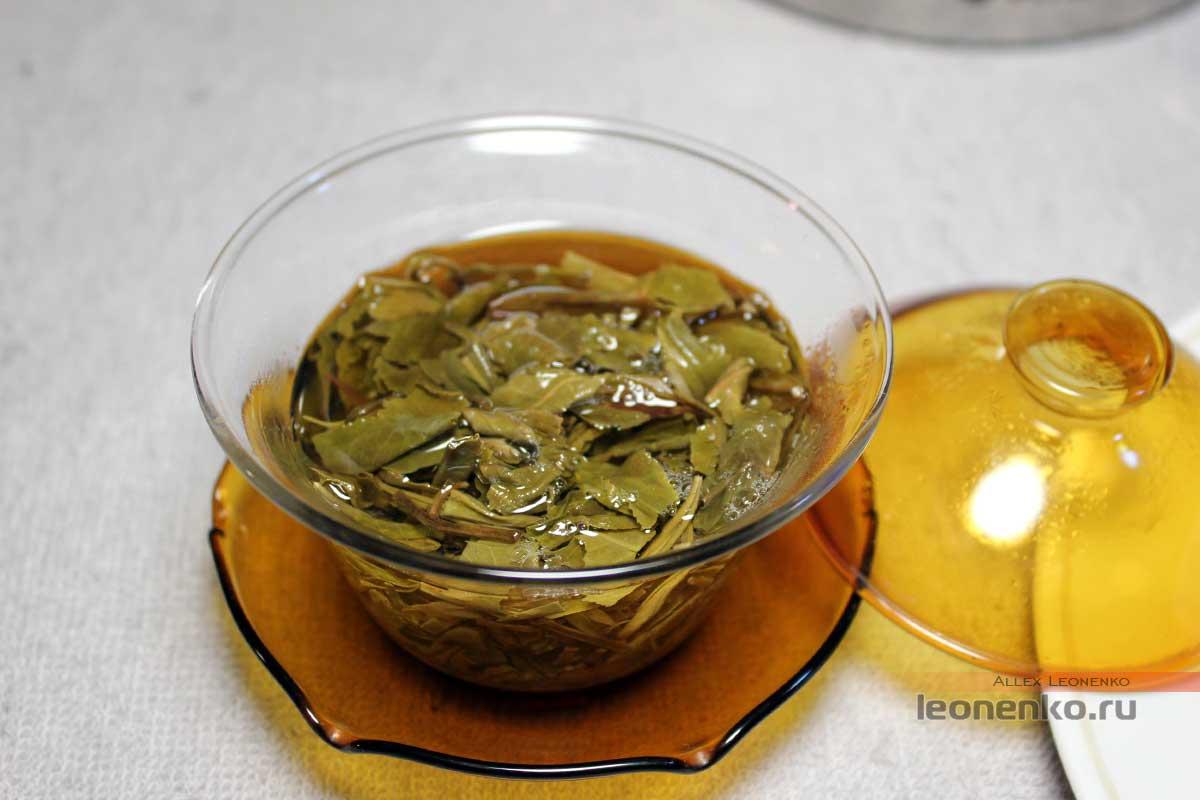 распаренный чай