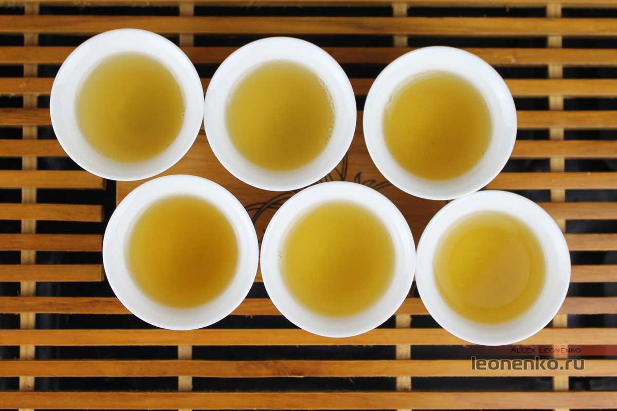 Шесть проливов чая