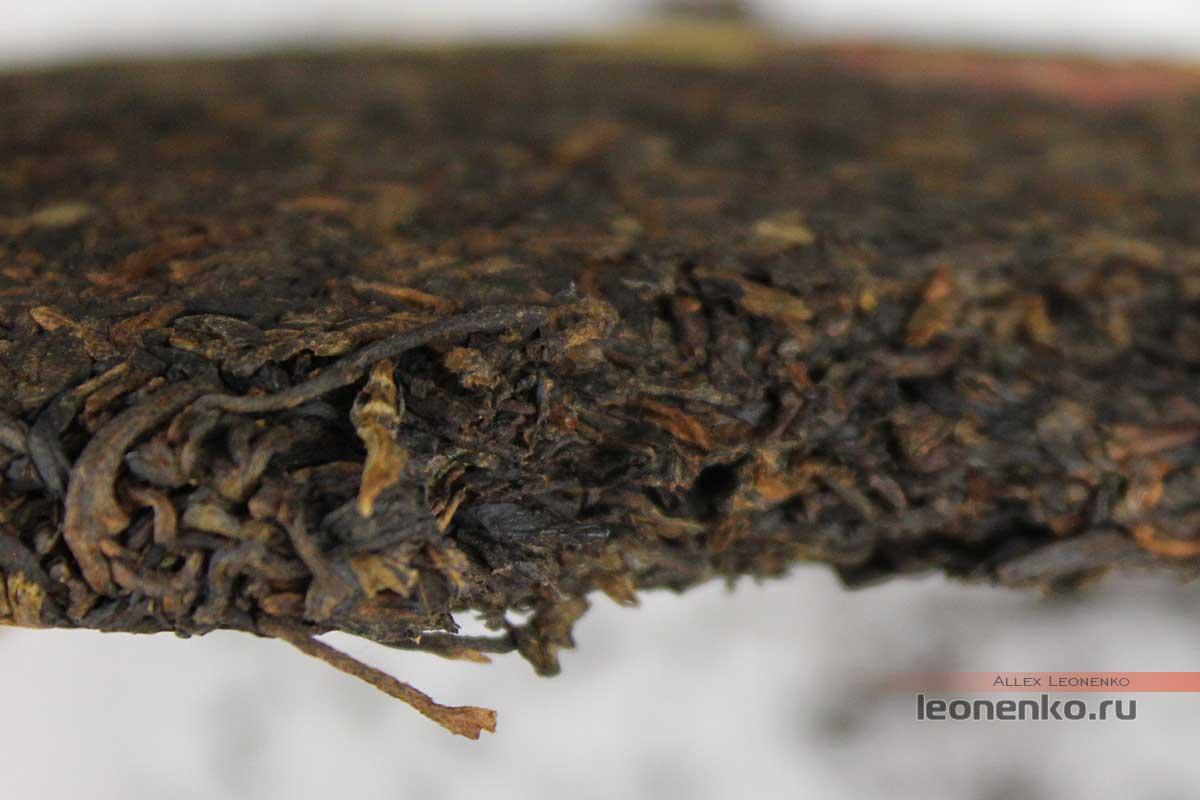 Чайный блин на изломе