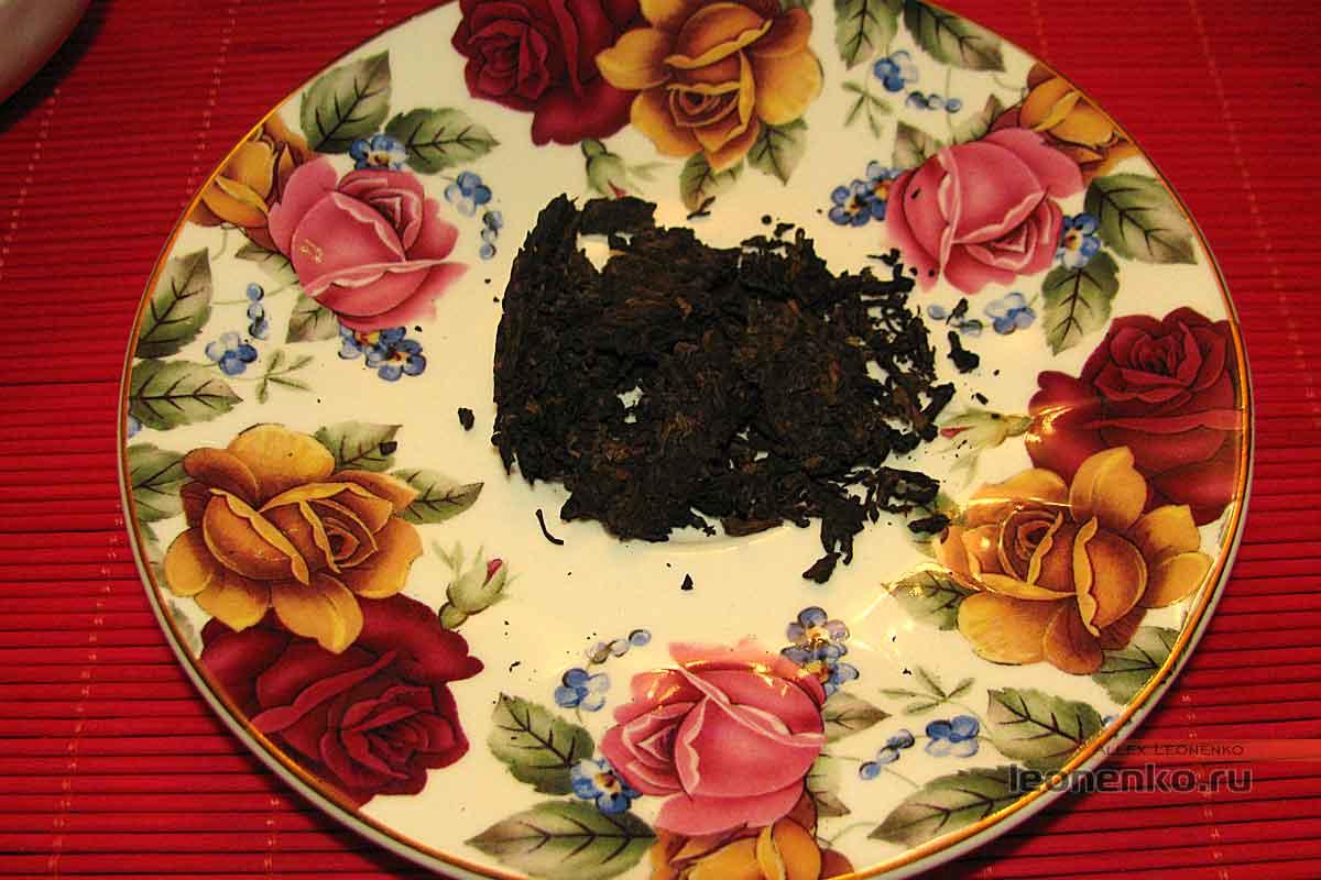 908 пуэр от Haiwan tea - приготовление