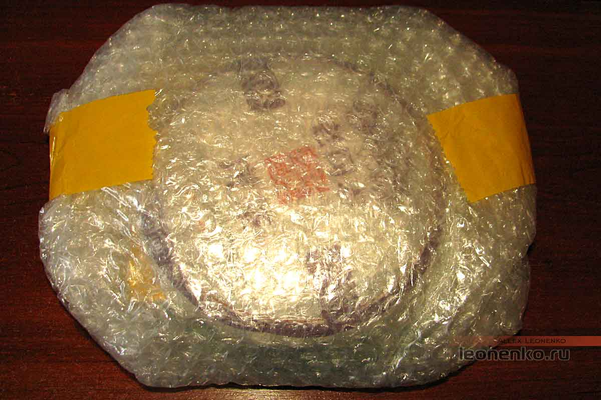 908 пуэр от Haiwan tea - упакованный чай