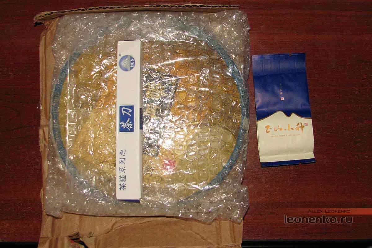 Гао Шань Лао Шу Пуэр с AliExpress - упаковка