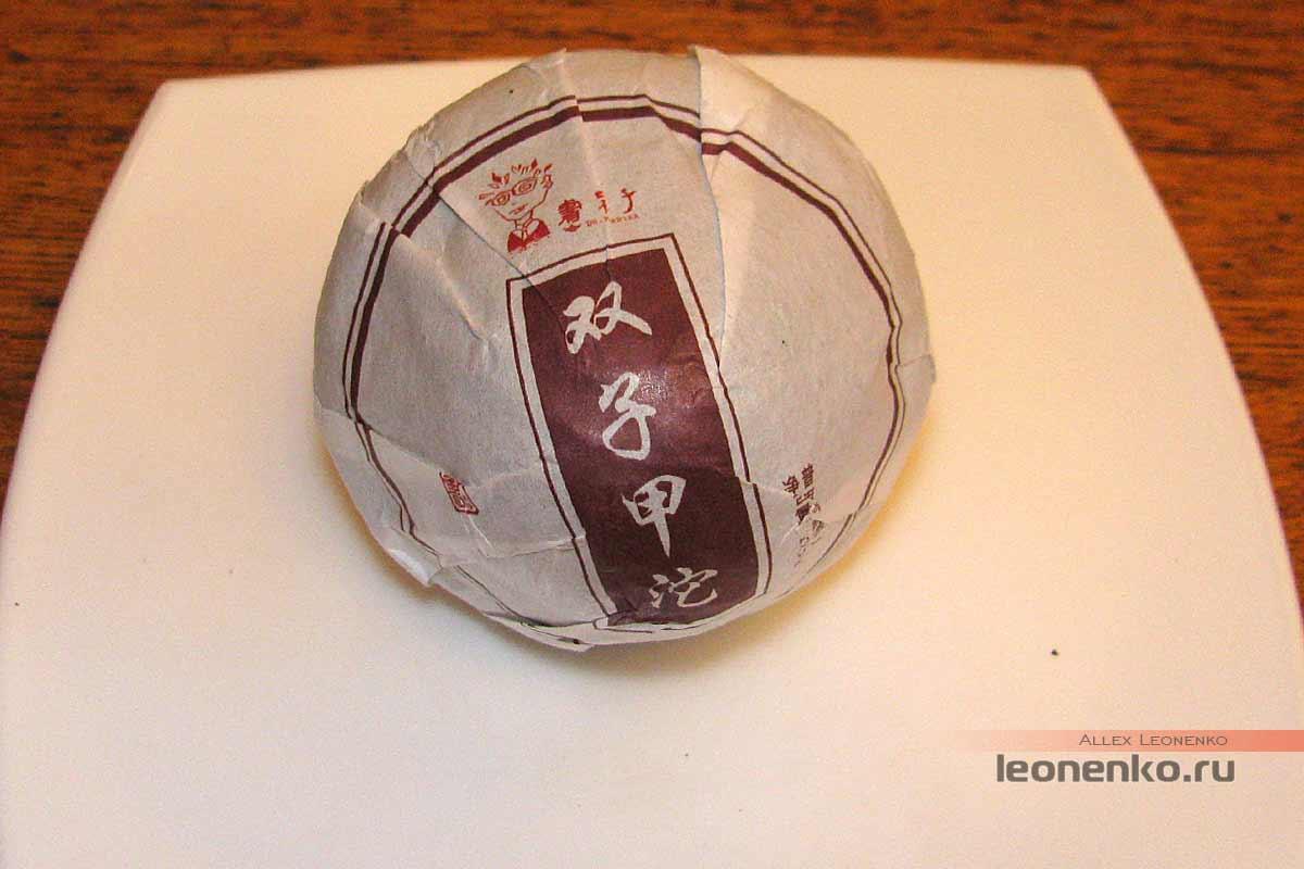 Туо-Близнецы от Ботаника - Шу пуэр Цзинь Ча упаковка