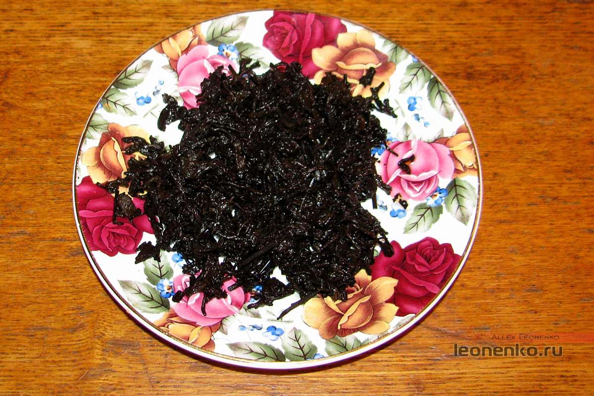 Шу пуэр Пу Юй  2012 года от Yunhe tea – спитой лист
