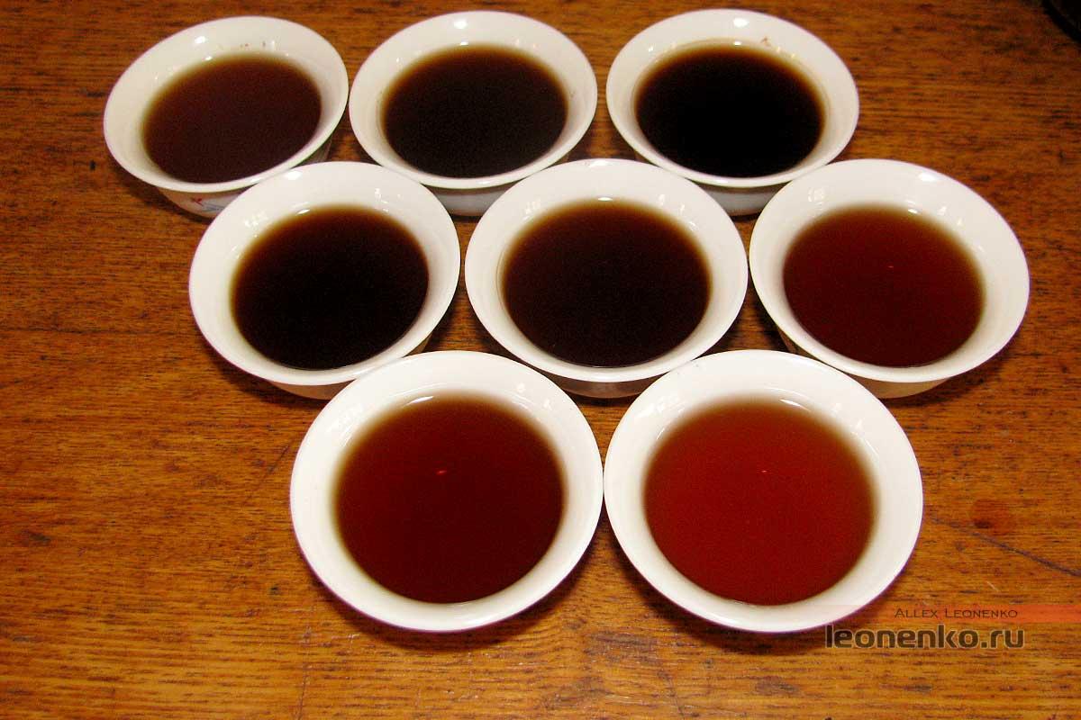 Шу Пуэр  7572 от TaeTea - приготовленный чай