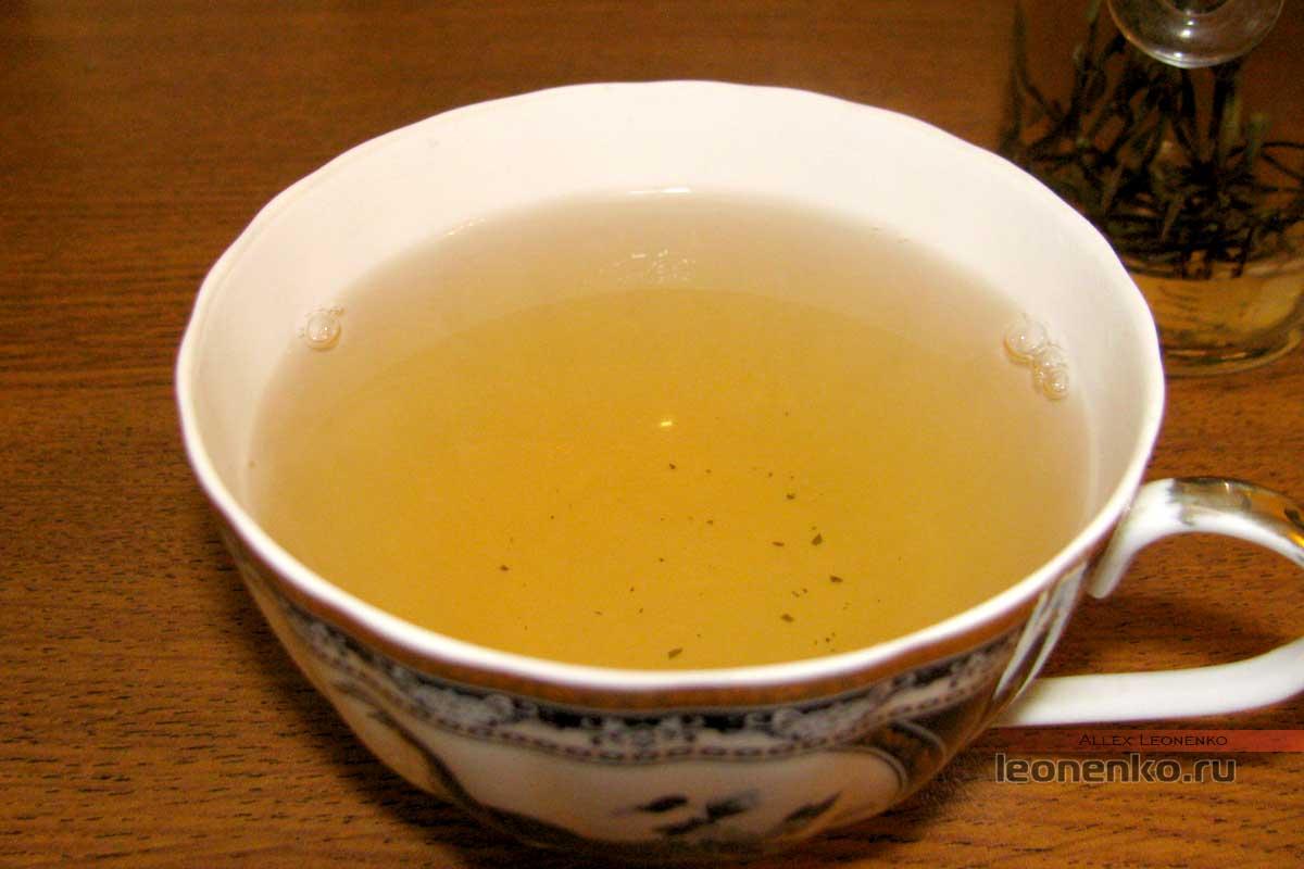 Бай Хао Инь Чжэнь, чайный настой