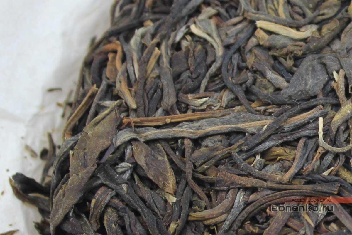 Шен Пуэр Бяньцзин, «Пограничный», чай из лаосского сырья, блин