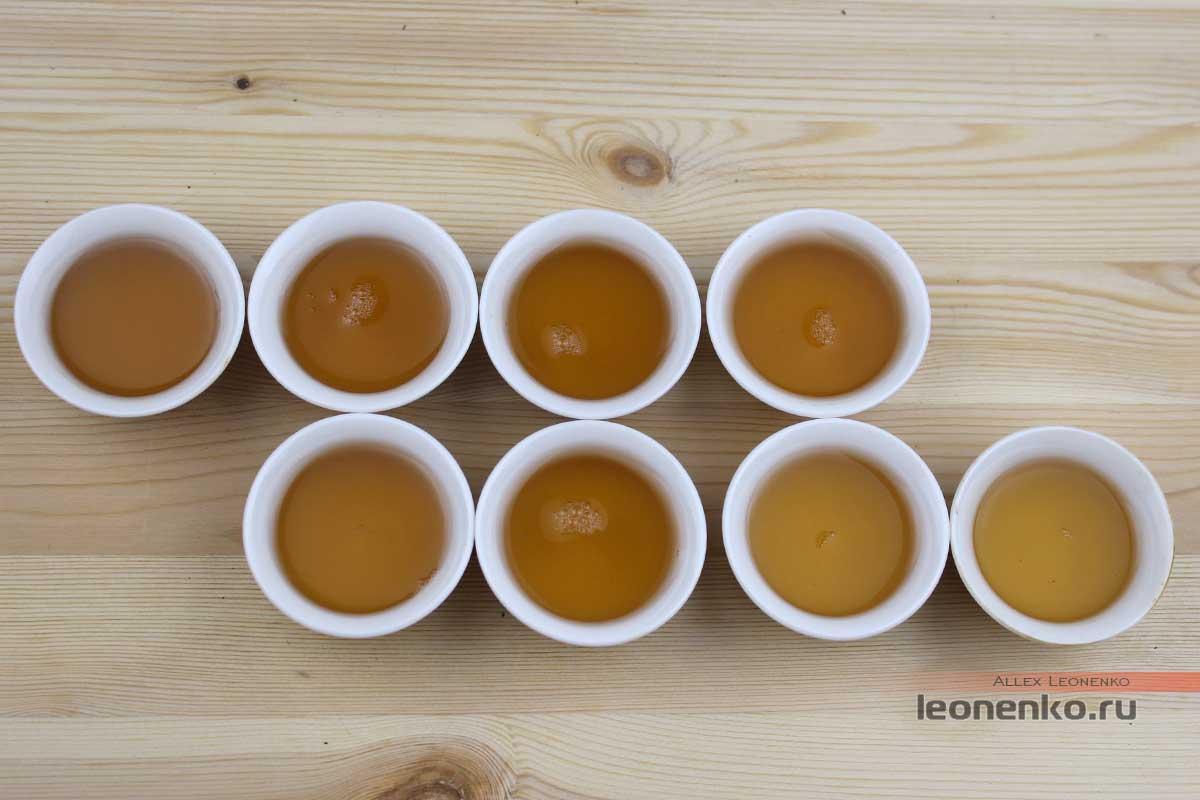 Шен Пуэр Бяньцзин, «Пограничный», чайный настой
