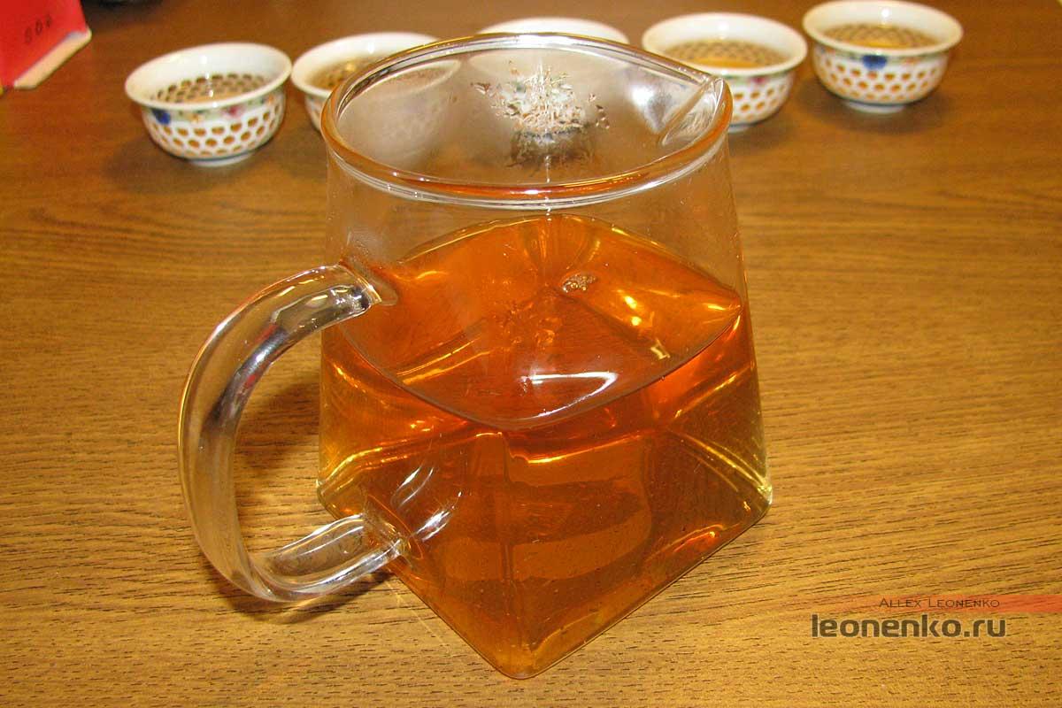 Бяньцзы Ча – чай «косичками» - приготовленный чай