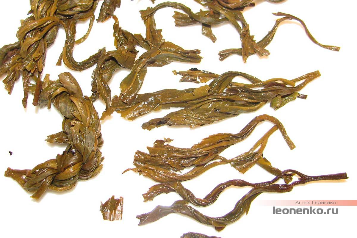 Бяньцзы Ча – чай «косичками» - чайное дно