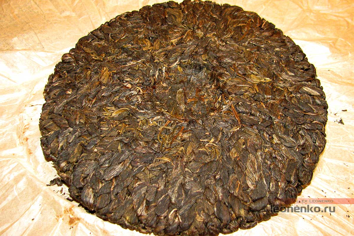 Бяньцзы Ча – чай «косичками» - чайный блин