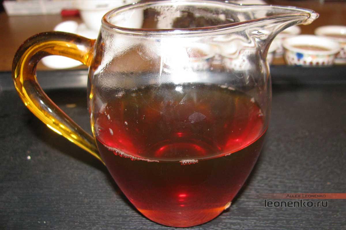 Шен пуэр Цайчаен 2003 год,чайный настой