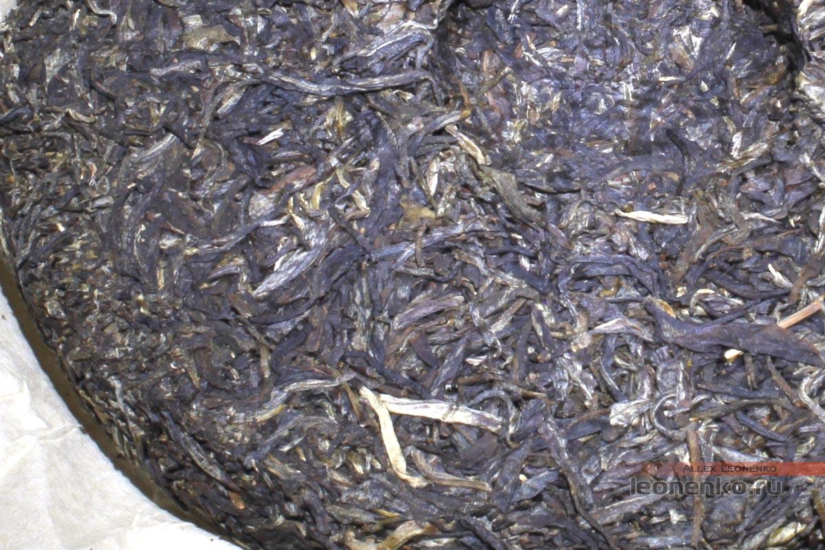 Мэнку Да Е Цин Бин, шен пуэр, 2015 г - чайный блин