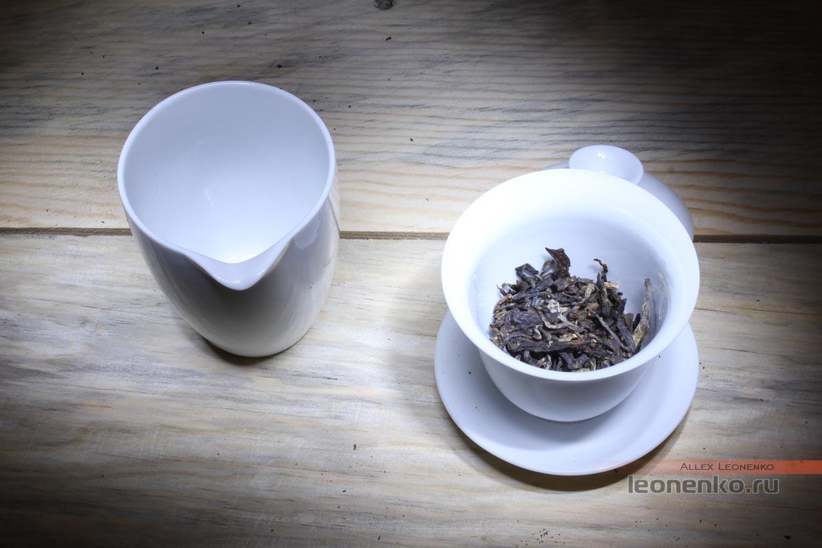 Мэнку Да Е Цин Бин, шен пуэр, 2015 г - сухой чай