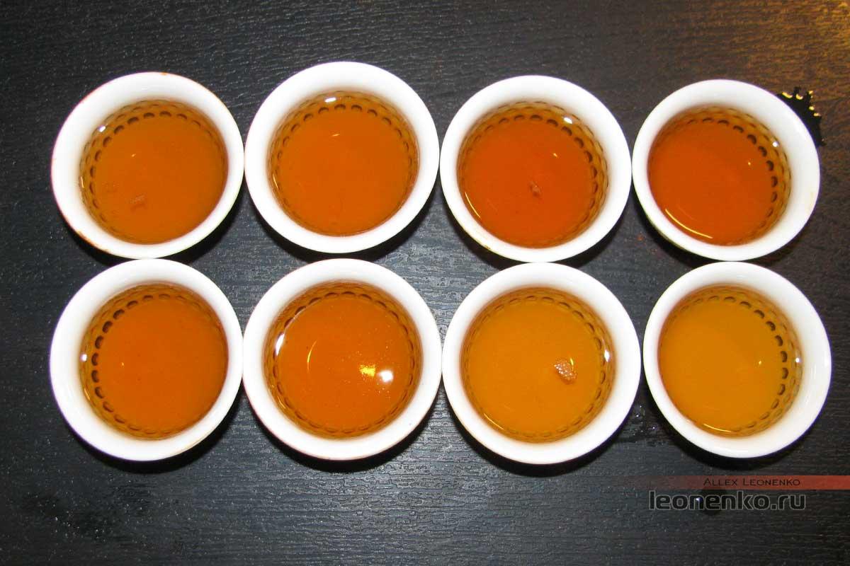 Да И Цзя Цзи Точа «Класс А», приготовленный проливами чай