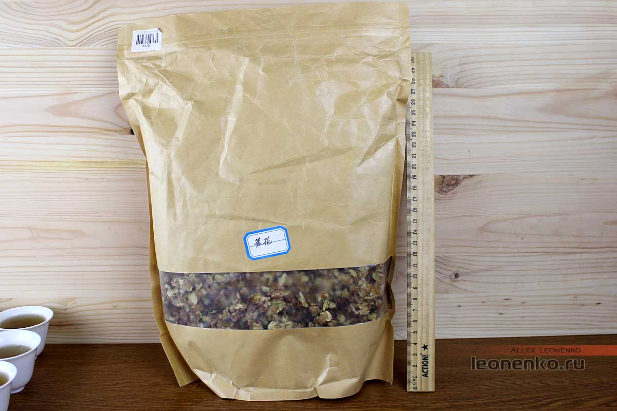 Пакет с цветками чайного дерева