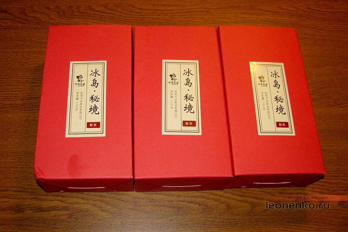Шен Пуэр Кэбу - Упаковка с чаем