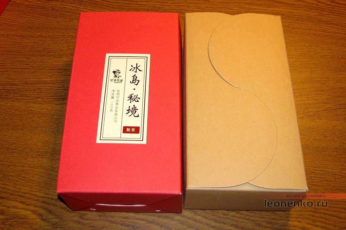 Шен Пуэр Кэбу - упаковка