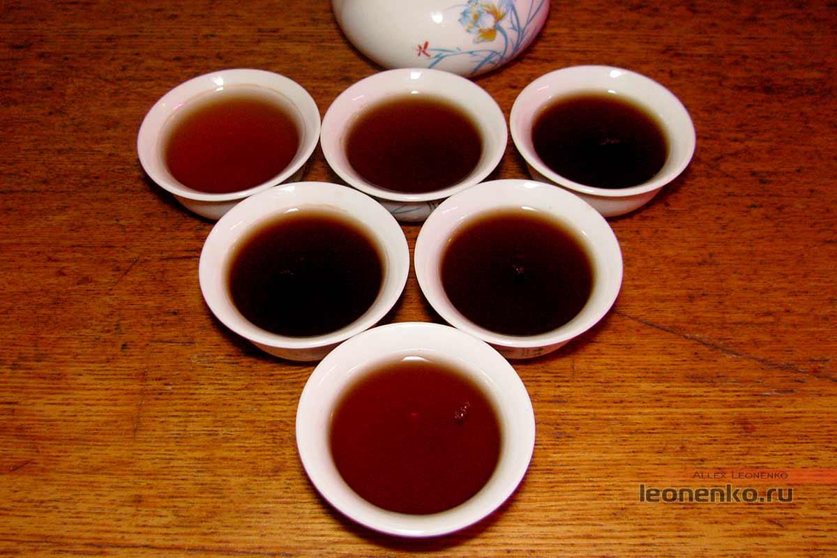 Пуэрные головы 2001 года от CaiCheng - готовый чай