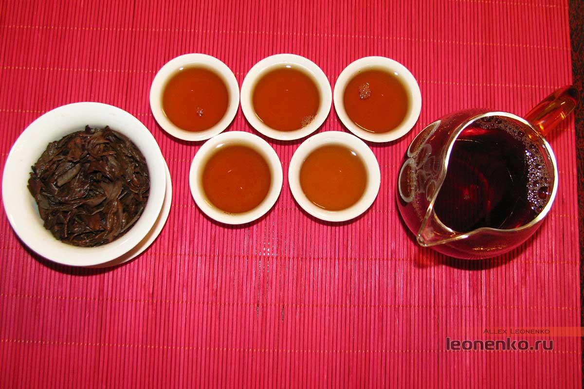 Лаосский шайхун -готовый чай