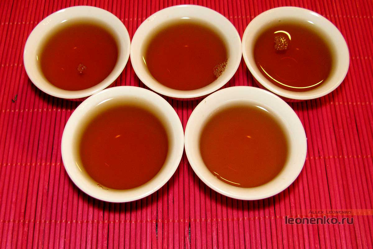 Лаосский шайхун - готовый чай