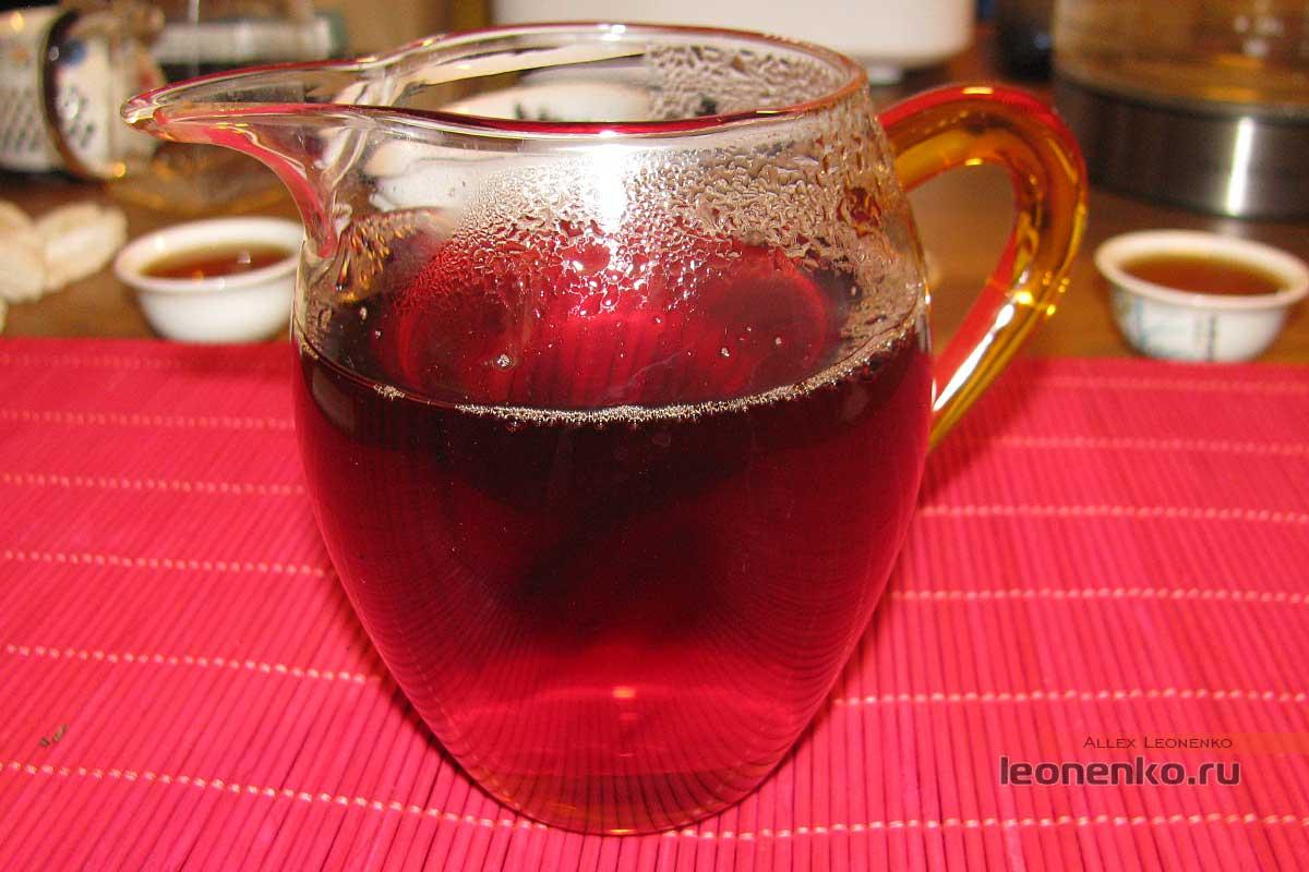 Лаосский шайхун - чайный настой