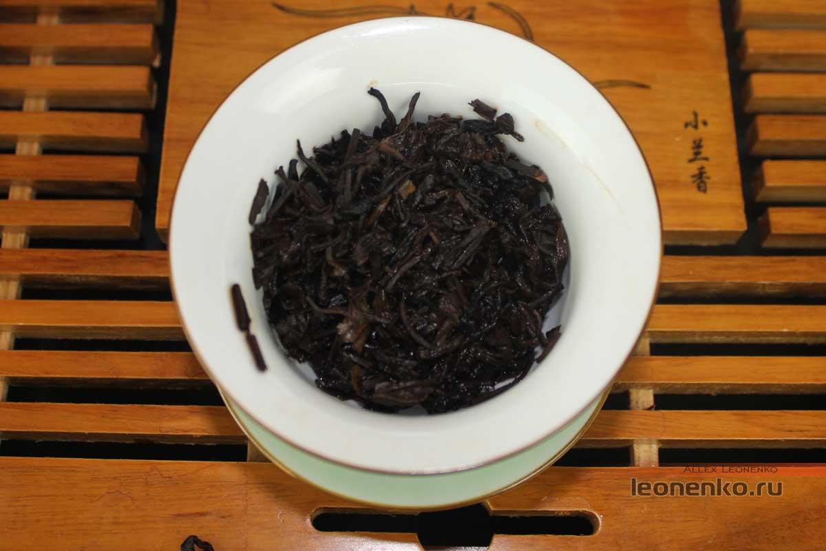 Лао Тун Чжи Пуэр Сань Цзи - спитой лист