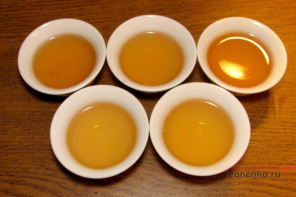Шен пуэр Caicheng Иу (易武), 2017 год - готовый чай