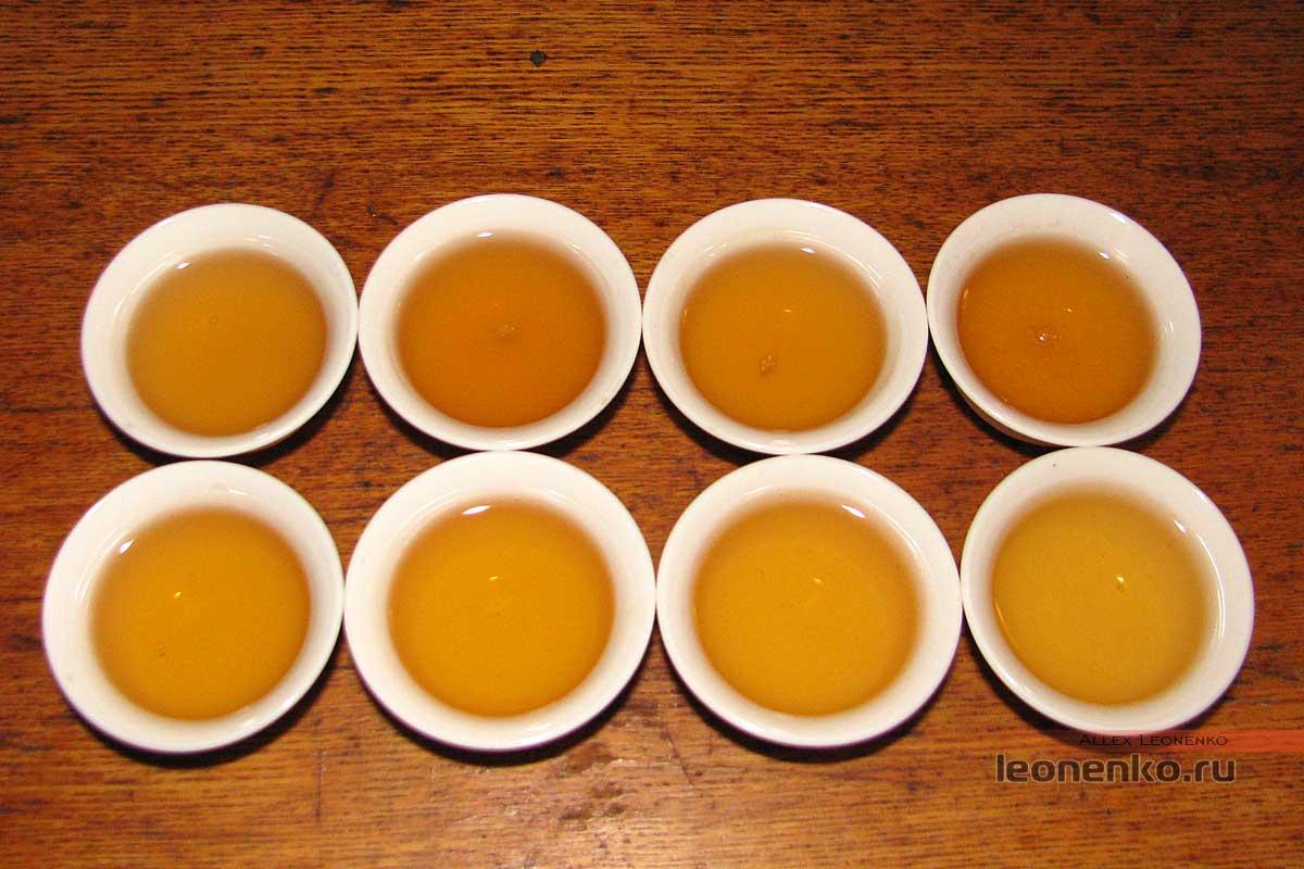 Мэнку Цзи Нянь Ча Хоубин - приготовленный чай