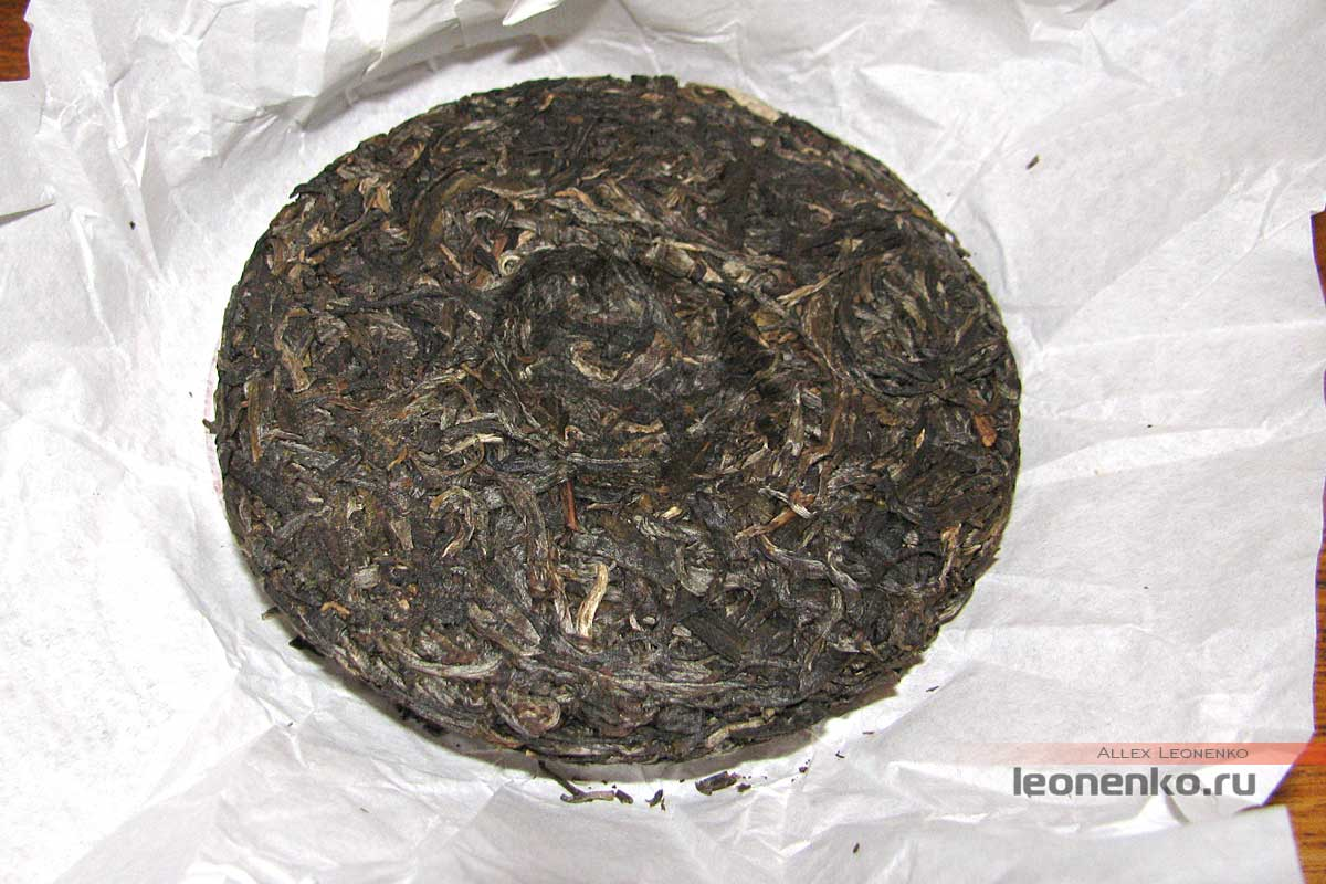 Мэнку Цзи Нянь Ча Хоубин - чайный блин