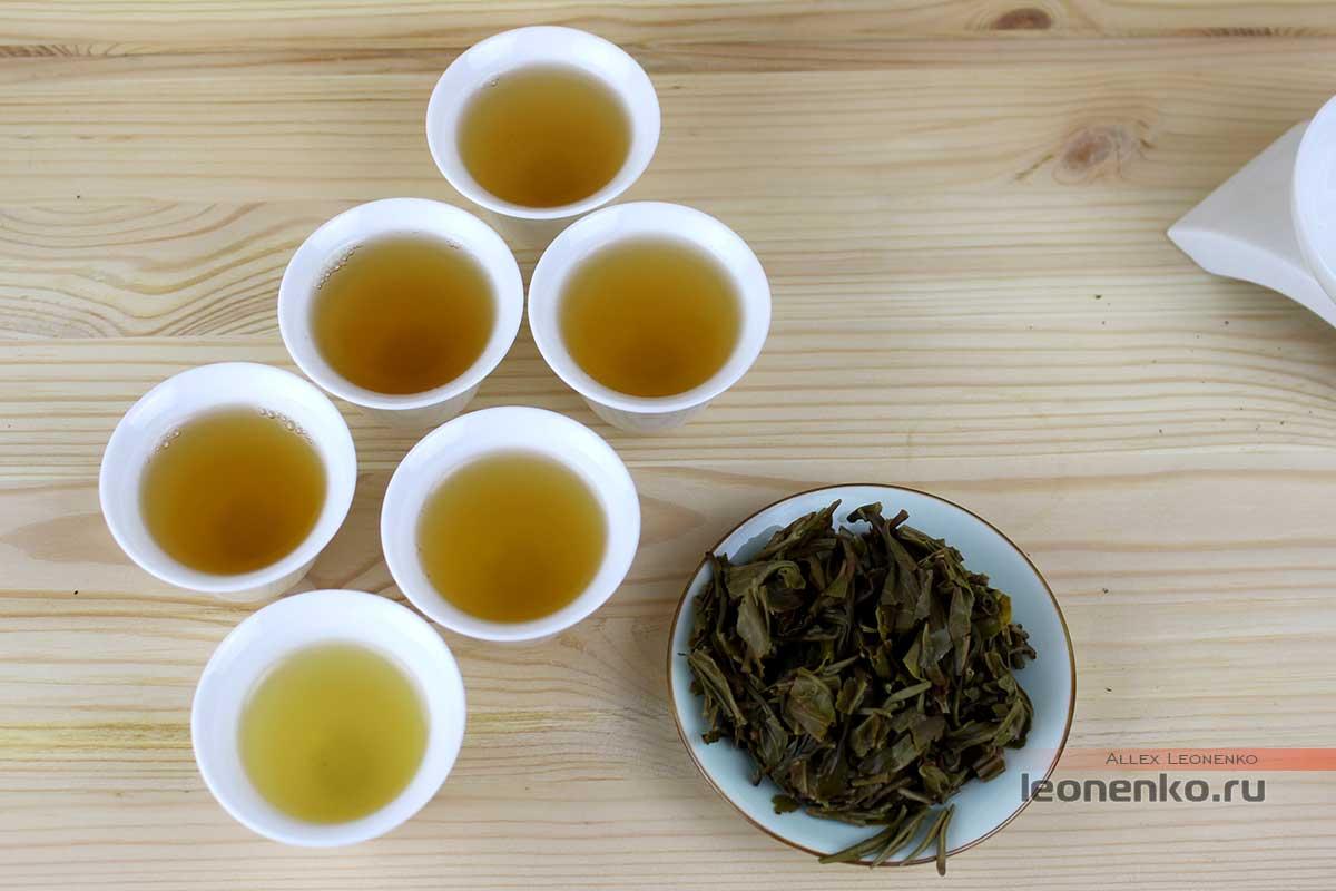 Мэнку Чунь Цзянь «Весенние Пики», чайный настой