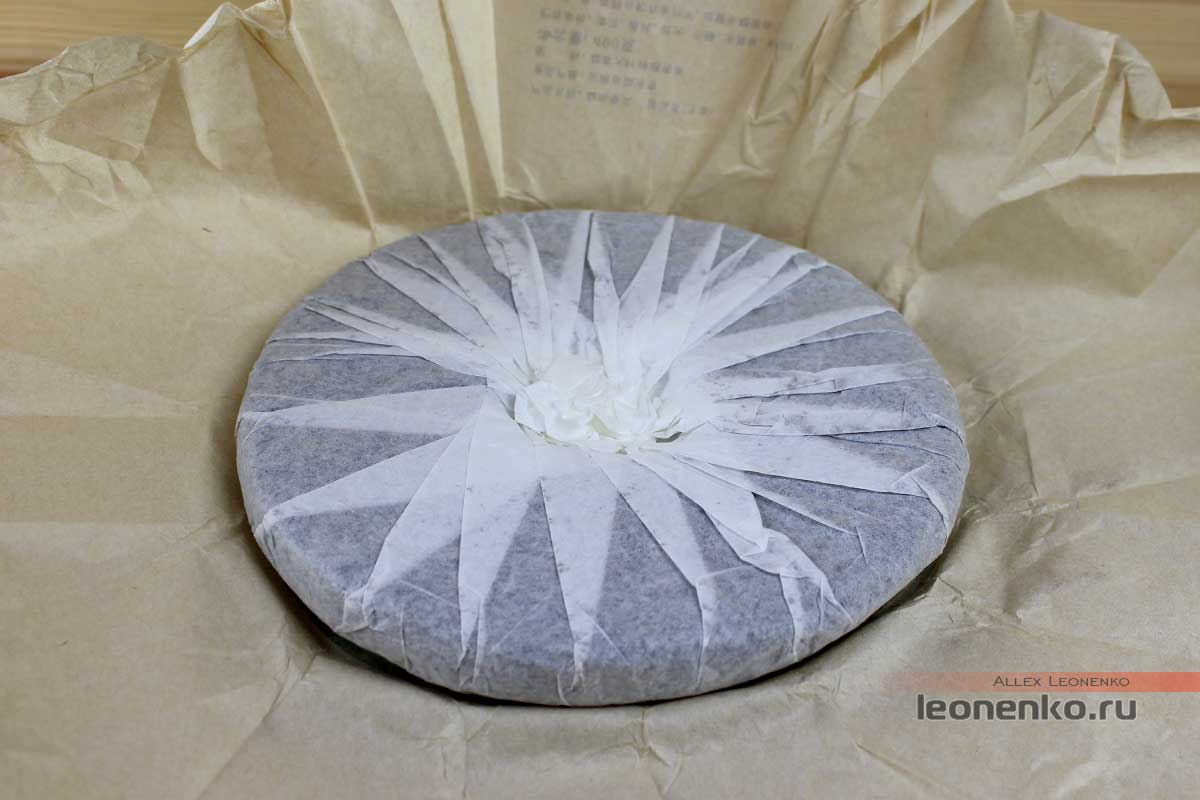 Мэнку Чунь Цзянь «Весенние Пики», внутренняя упаковка