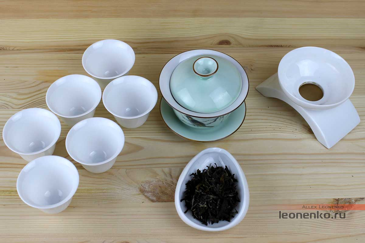 Мэнку Чунь Цзянь «Весенние Пики», приготовление